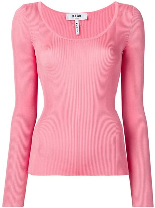 MSGM Ribbed Top