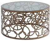ACME Furniture Coffee Table Brass Brown Opaque - ACME