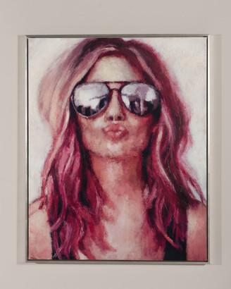 "N. RFA Fine Art ""Rock n' Roll"" Giclee Wall Art by Nava Lundy"