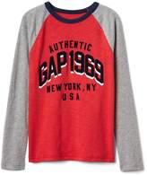 Gap Logo Raglan T-Shirt