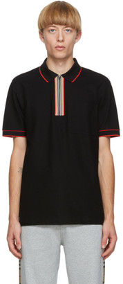 Burberry Black Waltham Polo