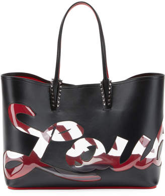 Christian Louboutin Cabata Logo Paris Tote Bag