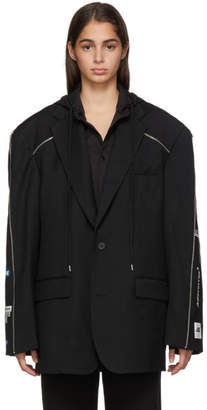 ADER error Black Zip Blazer