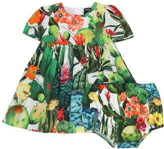 Dolce & Gabbana Kids Exclusive to Mytheresa Baby printed dress and bloomers set