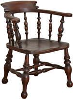 Rejuvenation Carved & Turned English Windsor Chair