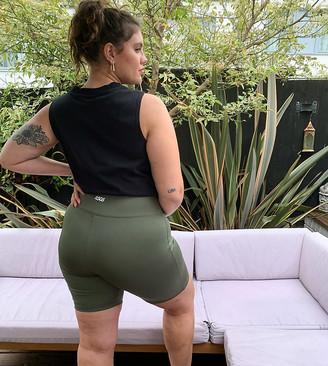 ASOS 4505 Curve icon booty legging shorts