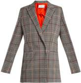 Amanda Wakeley Prince of Wales-check stretch-wool jacket
