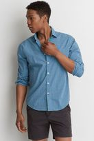 American Eagle Outfitters AE Gingham Plaid Poplin Shirt