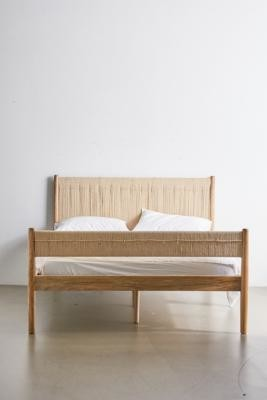 Urban Outfitters Woodrow Double Bed - Beige ALL at