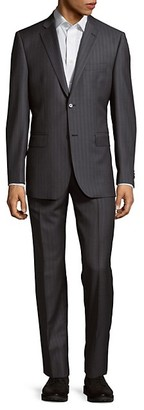 Saks Fifth Avenue Classic-Fit Wool Suit