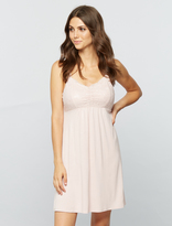 A Pea in the Pod Lace Nursing Nightgown