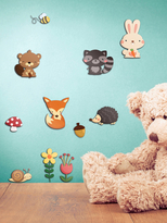 Happy Forest 3D Wall Decals