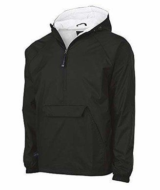 Charles River Apparel unisex adult & Water-resistant Pullover Rain Jacket (Reg/Ext Sizes) Windbreaker