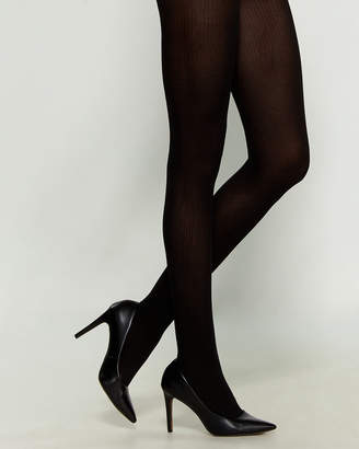 Emilio Cavallini Opaque Ribbed Tights