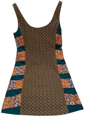 Anthropologie Gold Cotton Dresses