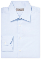 Canali Spread Collar Dress Shirt
