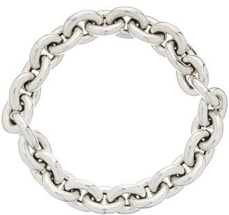 Bottega Veneta Chunky-chain Sterling-silver Necklace - Silver