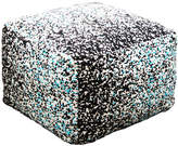 Space Teal Ottoman