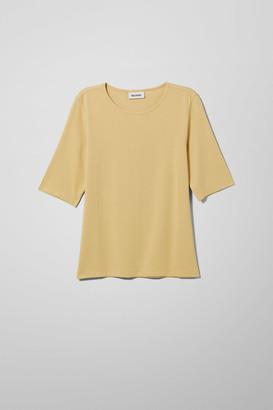 Weekday Celia T-Shirt - White