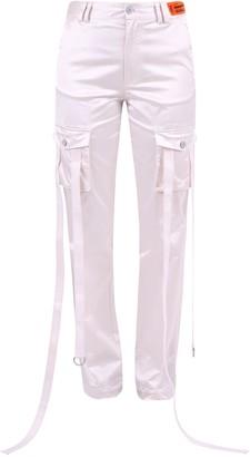 Heron Preston Satin Cargo Trousers
