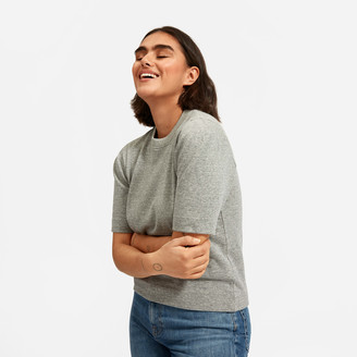Everlane The Lightweight French Terry Puff-Sleeve Tee