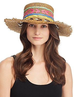 Echo Jubilee Embroidered Boater Hat