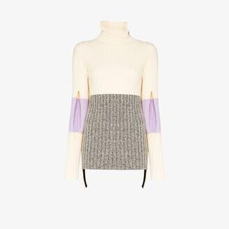 MONCLER GENIUS 2 Moncler 1952 rib knit turtleneck sweater