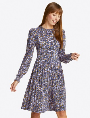 Draper James Kitty Knit Dress in Ditsy Floral