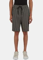 Men's Arc Game Striped Shorts In Black €345