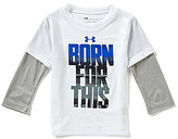 Under Armour Little Boys 2T-7 Born For This Slider Tee