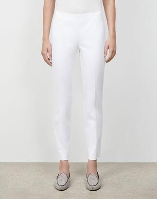 Lafayette 148 New York Plus-Size Jodhpur Cloth Front Zip Lexington Pant