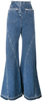 Esteban Cortazar high waisted flared jeans - women - Cotton - 36
