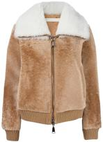 Drome zipped leather jacket - women - Lamb Skin/Polyamide/Acetate/Lamb Fur - M