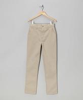 Eddie Bauer Khaki Twill Pants - Boys