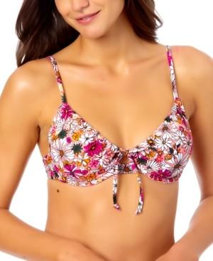 California Waves Juniors Bikini Top, Created for Macy's Women's Swimsuit