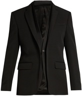 Givenchy Double-collar single-breasted blazer