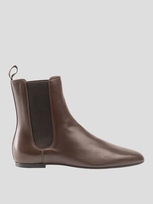 Santoni Dani Flat Chelsea Boot