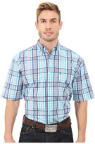 Stetson Streetlights Button Front Two-Pocket Short Sleeve Shirt