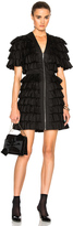 Isa Arfen All Over Ruffle Mini Dress