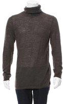 Emporio Armani Virgin Wool-Blend Turtleneck Sweater