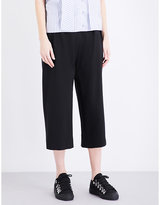 Jw Anderson Wide-leg Crepe Culottes