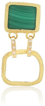 Elhanati Roxy Delight 18kt gold earring with diamond