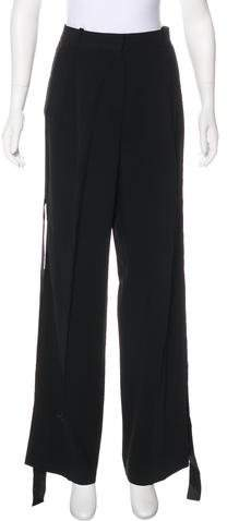 Givenchy 2016 Cady High-Rise Pants