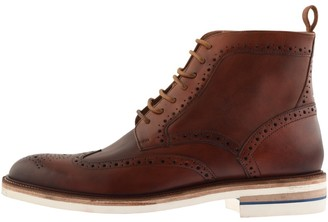 Oliver Sweeney Kirmington Brogue Boots Brown