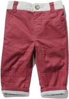 M&Co Maroon chino trousers