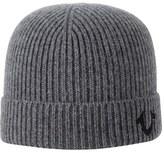 Men's True Religion Brand Jeans Rib Knit Cap - Metallic