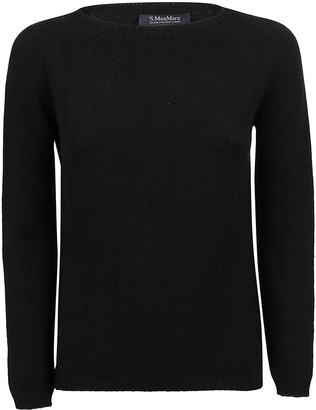 Max Mara Black Cashmere Sweater