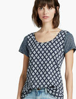 Lucky Brand Wood Block Tee