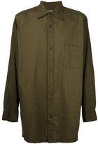 Yohji Yamamoto long fit shirt