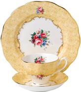 Royal Albert 100 Years Tableware Set - 3 Piece - 1990 Bouquet